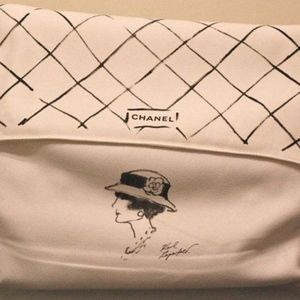 Sketch of Coco Chanel Dust Bag